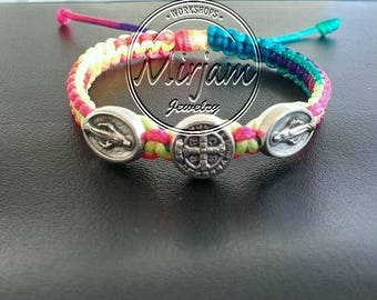St. Benedict & Miraculous Children's bracelet