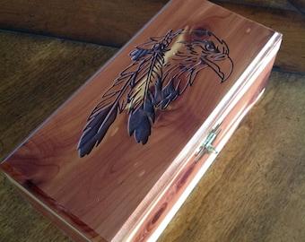 Native Eagle Box
