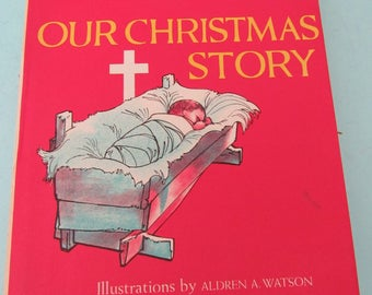 Our Christmas Story by Mrs. Billy Graham 1959 Free Shipping