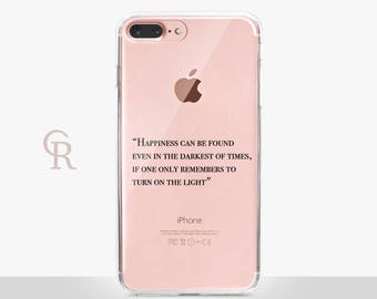 Inspirational iPhone 8 Case - Clear Case - For iPhone 8 - iPhone X - iPhone 7 Plus - iPhone 6 - iPhone 6S - iPhone SE Transparent - Samsung
