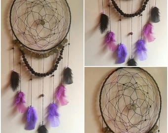 -DreamCatcher purple and black gypsy