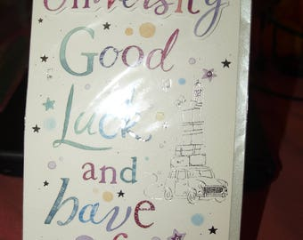 You're off to University Good Luck and have fun Card