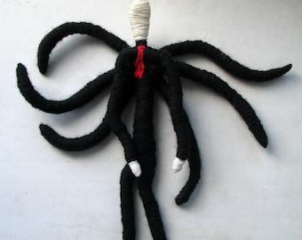 Slenderman Doll Paraphernalia Game Horror Creepy Interior Decoration Toy Slendy Slender Man