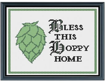 Beer Cross Stitch Pattern