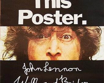 John Lennon - Walls & Bridges Poster