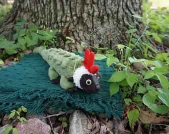 Grimer. FrankenFuzzie, Soft Sculpture, Stuffed Animal, Toy, Grinwald's brother