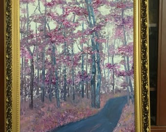 lavender forest