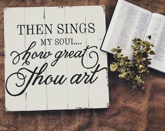 How Great Thou Art Sign