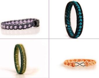 Crochet Pattern Bundle, Crochet patterns, 15% OFF, diy gift ideas, Crochet bracelet, bangle, crochet jewelry pattern, MudenoMade
