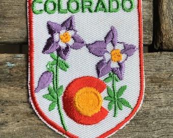 Colorado Vintage Souvenir Travel Patch from Voyager