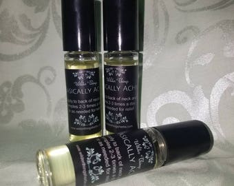 Basically Achey to fend off Stress Headaches- Natural Roll On Essential Oils