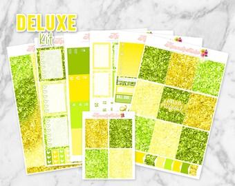 Hello August Deluxe Planner Sticker Kit for Erin Condren Life Planners | Kimmi's Studio