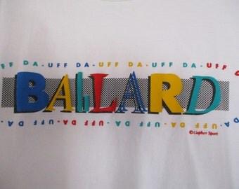 Vtg UFF DA Ballard T Shirt XL