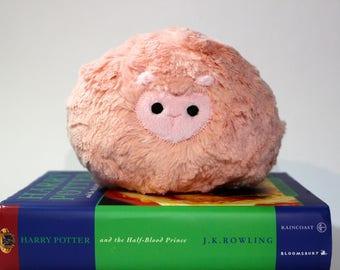 Coral Pygmy Puff Plush