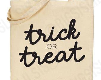 Trick or Treat Glow In The Dark Halloween Candy Bags/Trick or Treat Halloween Candy Bag/Glow In The Dark Trick or Treat Bag/Halloween Bags/