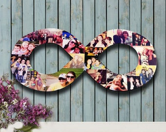 Personal Photo Collage, Custom Photo Collage, Letter Photo Collage, Wood Letters, Personal Collage, Photo Collage, Customized Photo Letters