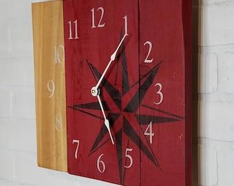 Medium Wood Wall Clock