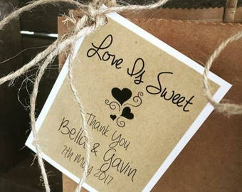 Lolly/favour bags ... Personalised for your lolly bar