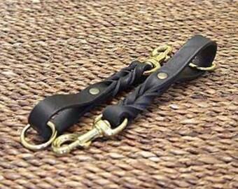 Bridle Leather Training Leash/Tab Leash