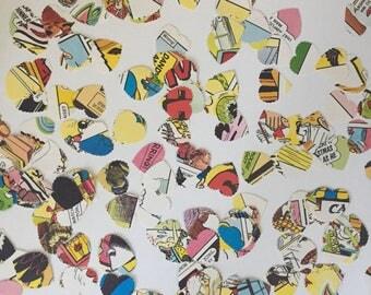 Hand Punched Vintage The Dandy Book 1992 Licence To Laugh Confetti - Party Confetti - Wedding Confetti - Birthday Confetti