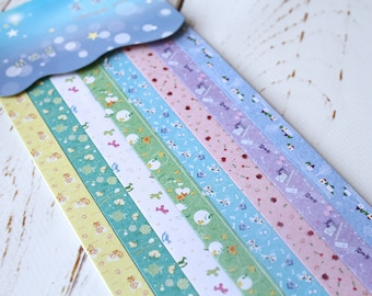 Origami strips/ DIY Wedding Lucky Stars/ Paper strips/ Pastel origami/Scrapbooking paper
