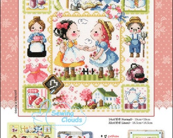 Anne of Green Gables Counted cross stitch chart SODAstitch SO-3182