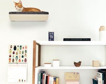 Cat Bed, Wall Mounted Shelf, Cat Seat, Wall Shelf, Gray Cat Bed