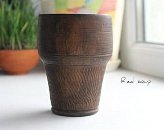 Ceramic tumbler, Handmade tumbler, Pottery glass, Handmade glass, Stoneware tumbler, Stoneware glass