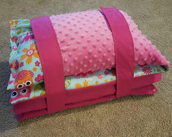 Kinder Nap Mat Cover with Pillow and Blanket