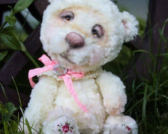 Artist teddy bear ooak Honey