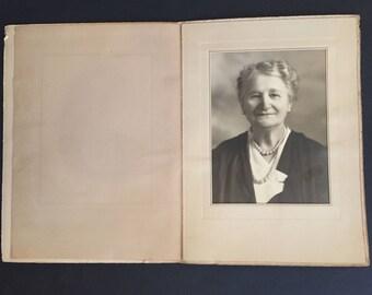 Vintage Portrait Photo