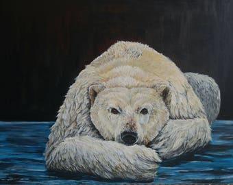 Polar Bear painting ORIGINAL