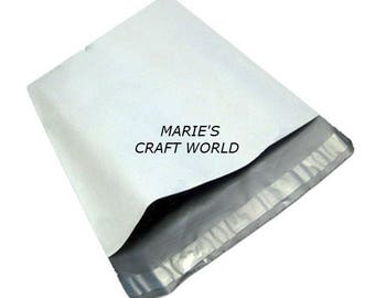 100 9 x 12 Poly Mailers Bags Shipping Office Mailing Supplies 2 Mils