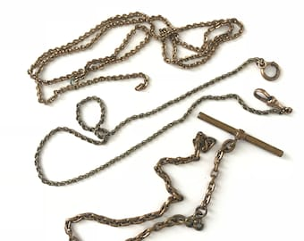 Vintage Fob Chain Destash Lot // Watch Chain Destash Lot