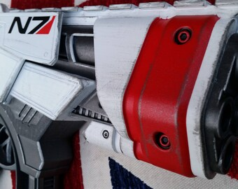 Mass Effect N7 inspired cosplay pistol - Still Fires