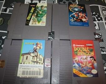 Nintendo Game - Metal Gear - Back to the Future 2 & 3 - Paperboy 2 - Double Dragon - Original Nintendo