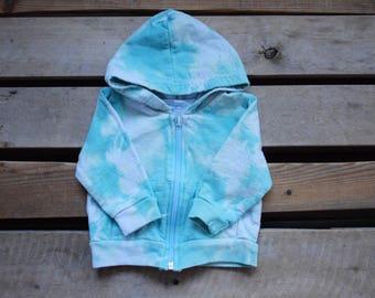 Tie Dye Zip Up Sweater - Kids Hoodie - Tie Dye Hoodie - Toddler Hoodie - Baby Hoodie - Tie Dye Toddler Hoodie - Tie Dye Baby Hoodie
