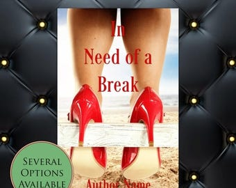 75% SALE In Need of a Break Pre-Made eBook Cover * Kindle * Ereader Cover