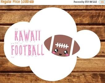 50% OFF 42 Kawaii Football stickers
