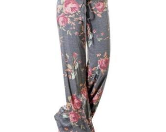 Rose lounge pants - pre order