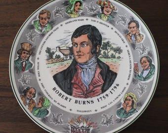 "Vintage Royal Doulton Robert Burns 10 1/2"" Plate Series Ware TC1040"