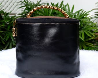 Vintage Loewe Vanity Top Handle Bag