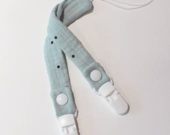 Pacifer clip for babies / made in France