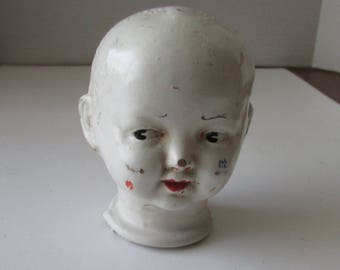 Vintage Composition  Doll Head Compo Trion Toy Co.
