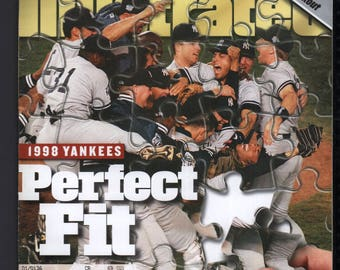 Vintage Magazine - Sports Illustrated : November 2 1998 - New York Yankees