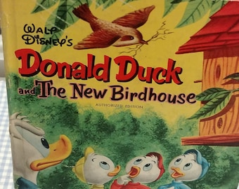 Donald Duck and The New Birdhouse Tell A Tale Book