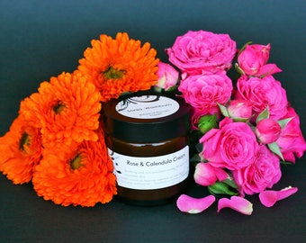 Rose & Calendula Cream