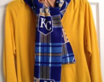 KC Royals Logo Fleece Scarf