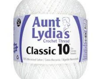 Aunt Lydia's® Jumbo Crochet Cotton Thread, White