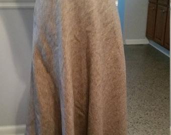 ON SALE Evan Picone Herringbone Wool Skirt. Made in USA